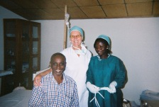 Marian, Doctor Mark Quartey, Esther
